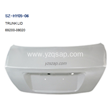 100% Original for HYUNDAI Pilot Parts Steel Body Autoparts HYUNDAI 2003 ELANTRA TRUNK LID supply to Pakistan Manufacturer